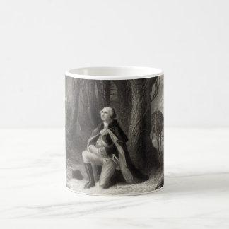 Mug Portrait vintage de la prière de George Washington
