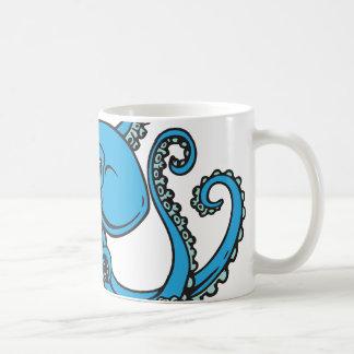 Mug Poulpe de bleu d'océan