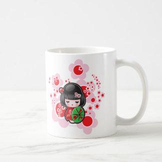 Mug Poupée de Kawaii Kokeshi