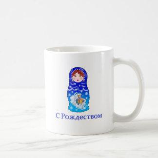 Mug Poupée d'emboîtement de Noël