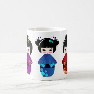 Mug Poupées de Kokeshi