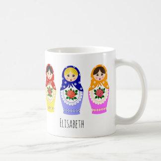 Mug Poupées russes de matryoshka