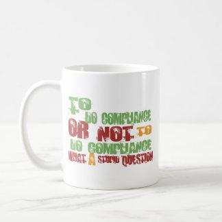 Mug Pour faire la conformité