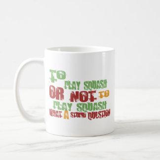 Mug Pour jouer au squash