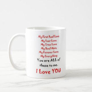 Mug Pour toujours poème d'amour