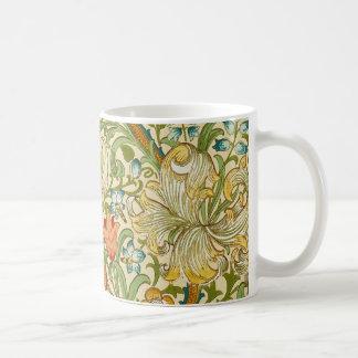 Mug Pre-Raphaelite d'or de cru de lis de William