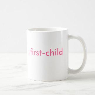 Mug : premier-enfant (c'est une fille)