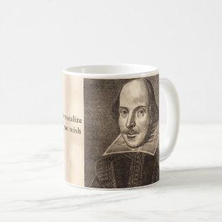 Mug Premier portrait folio de Shakespeare - avec Ben
