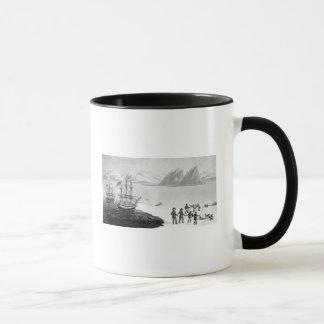 Mug Première communication avec les indigènes du