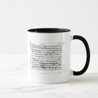 Mug Première de Sonate pour le violon et le clavecin