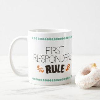 Mug Première règle de répondeurs