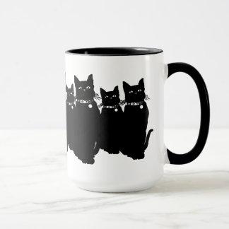 Mug Prenez garde du chat noir