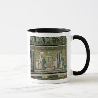 Mug Présentation dans le temple, détail de l'histoire
