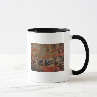 Mug Présentation d'ordre de Saint-Esprit au prince