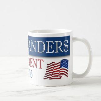 Mug Président 2016 de ponceuses de Bernie patriote