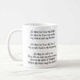 Mug Prière de Viking