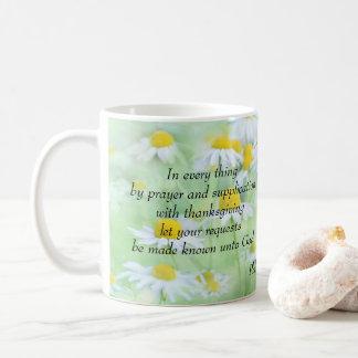 Mug Priez avec le thanksgiving - 4:6 de Philippiens