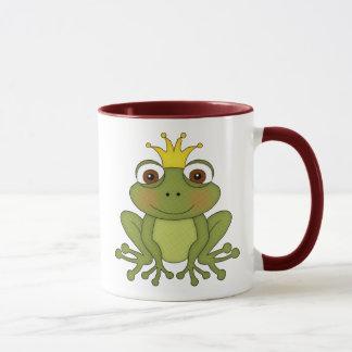 Mug Prince de grenouille de conte de fées avec la