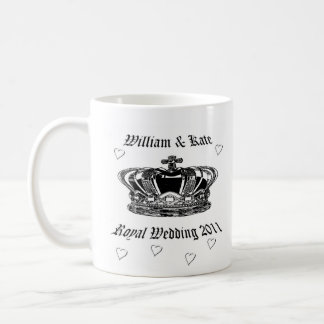 Mug Prince William et Kate. Mariage royal 2011