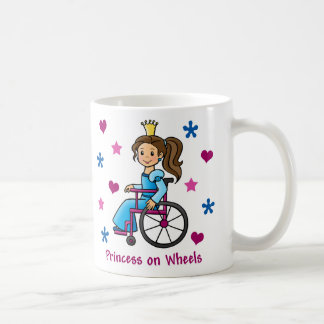 Mug Princesse de fauteuil roulant