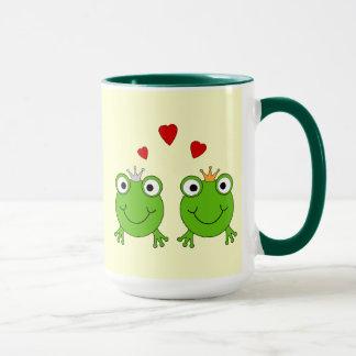 Mug Princesse de grenouille et prince de grenouille,
