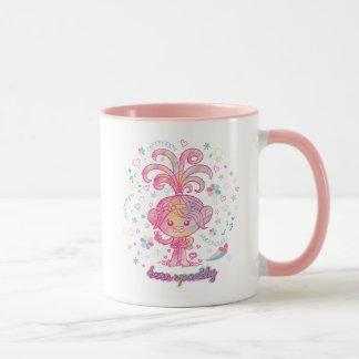 Mug Princesse Poppy des trolls |