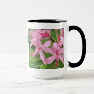 Mug Prinophyllum de rhododendron, azalée tôt