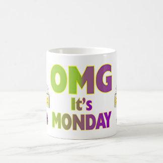 Mug (produits multiples choisis) OMG c'est lundi