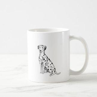 Mug Produits personnalisables de chien dalmatien