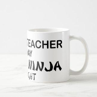 Mug Professeur d'Anglais Ninja mortel
