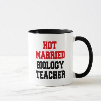 Mug Professeur de biologie marié chaud