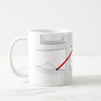 Mug Projet architectural, dessin, architectes