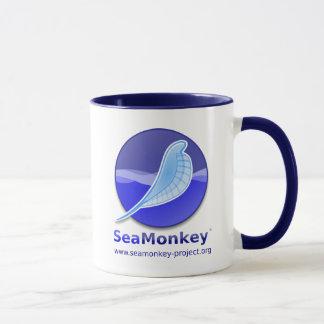 Mug Projet de SeaMonkey - logo vertical