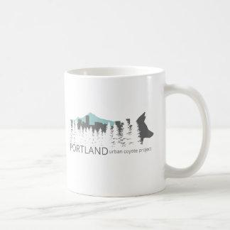 Mug Projet urbain de coyote de Portland