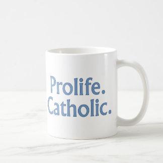 Mug Prolife. Catholique