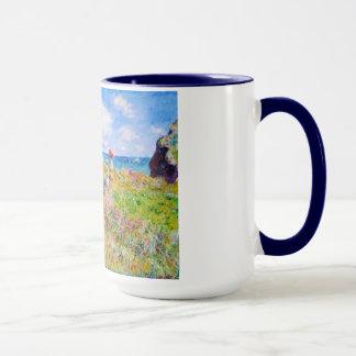 Mug Promenade de Clifftop chez Pourville Claude Monet
