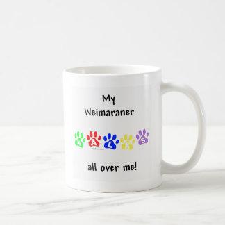 Mug Promenades de Weimaraner