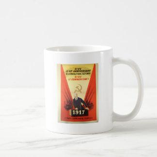 Mug Propagande communiste vintage française