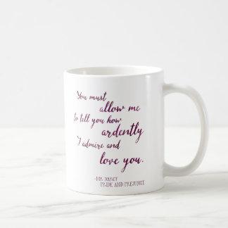 Mug Proposal de M. Darcy's - Jane Austen, fierté et