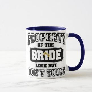 Mug Propriété de la jeune mariée