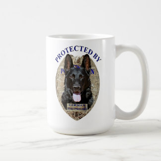 Mug Protégé par le berger allemand