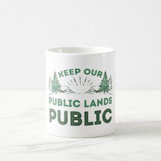 Mug Protégez nos terrains publics