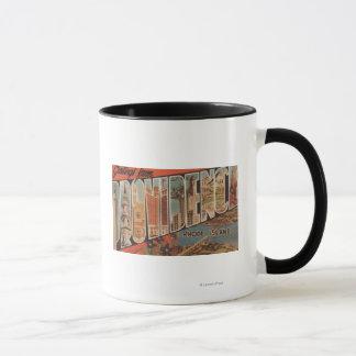Mug Providence, Île de Rhode - grandes scènes 2 de