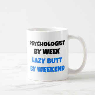 Mug Psychologue par bout paresseux de semaine par
