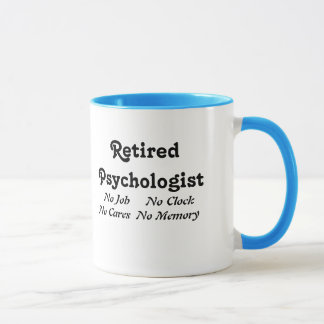 Mug Psychologue retraité