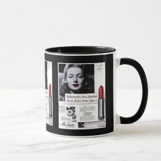 Mug Publicité de rouge à lèvres de Tasse-Cru