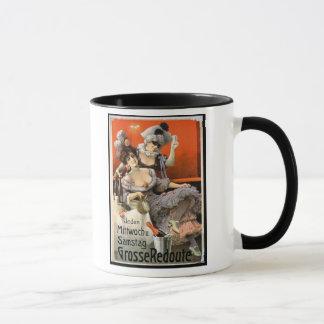 """Mug Publicité par affichage """"Grosse Redoute"""" (litho de"""