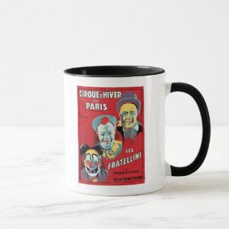 Mug Publicité par affichage le 'd'Hiver De Paris de