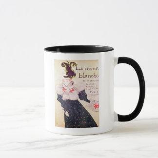 """Mug Publicité par affichage """"revue Blanche de La"""","""