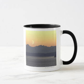 Mug Puget Sound Moonset